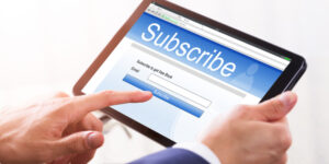 THE SUBSCRIPTION ECONOMY