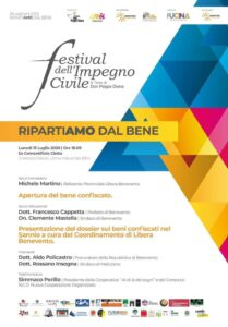 FESTIVAL DELL'IMPEGNO CIVILE A BENEVENTO