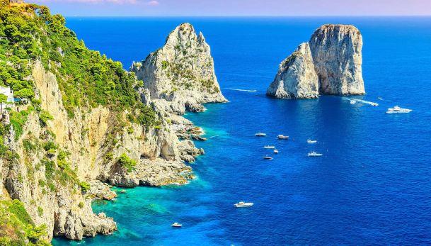 I MARI DELLA CAMPANIA:  la costa vesuviana e le magiche isole del golfo