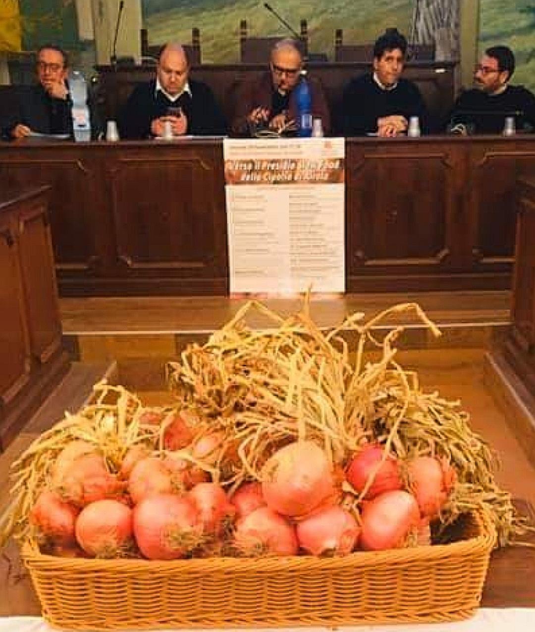 Presidio Slow Food per la Cipolla di Airola. Mercoledì la presentazione nella sala consiliare