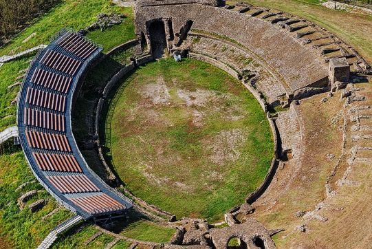 Riapre l'Anfiteatro romano di Avella