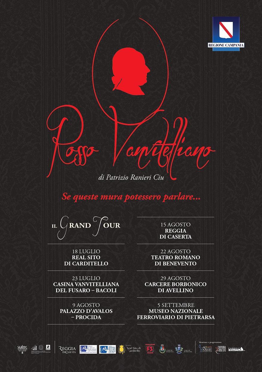 Arriva Rosso Vanvitelliano, il gran tour della Campania