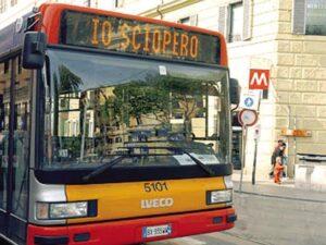 TRASPORTI. ROMA, VENERDI' SCIOPERO: BUS, METRO E FERROVIE A RISCHIO