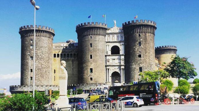 Il Maschio angioino, la roccaforte di Napoli