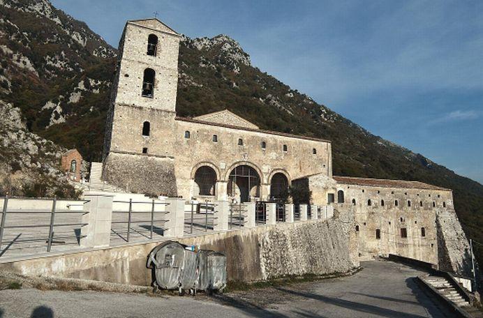 Il Santuario del monte Taburno a Bucciano