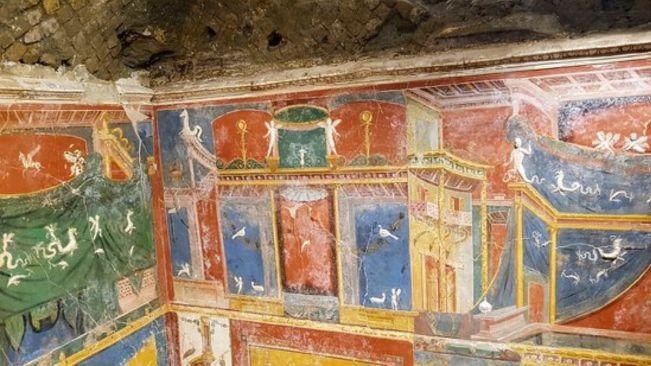 L'incantevole Villa romana di Positano