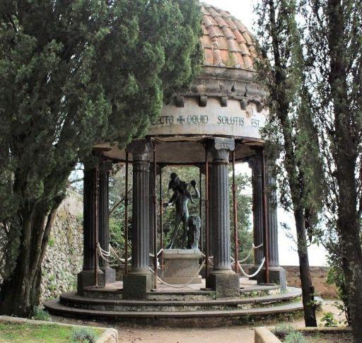 Villa Cimbrone e il Tempio di Bacco a Ravello