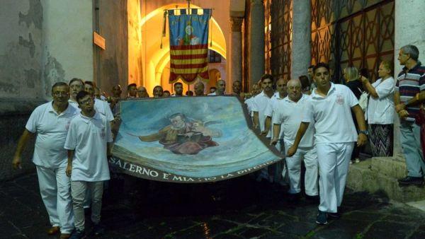 Il Panno miracoloso di San Matteo, patrono di Salerno