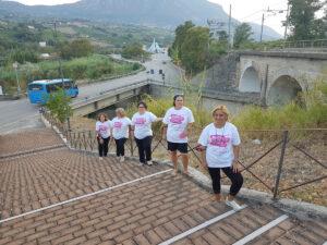 Pro Loco Ad Pontem di Ponte (BN) in corsa per la vita con oltre 50 partecipanti, contro il tumore al seno
