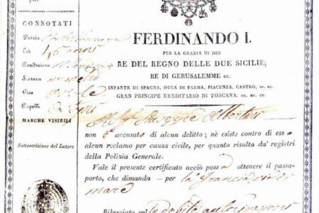 L'evoluzione del passaporto nel Regno di Napoli e il problema odierno dei rimpatri