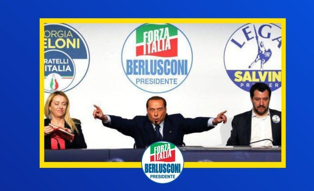 LA MOSSA DI BERLUSCONI EVITA LA SCISSIONE IN FORZA ITALIA E SALVA LA COALIZIONE