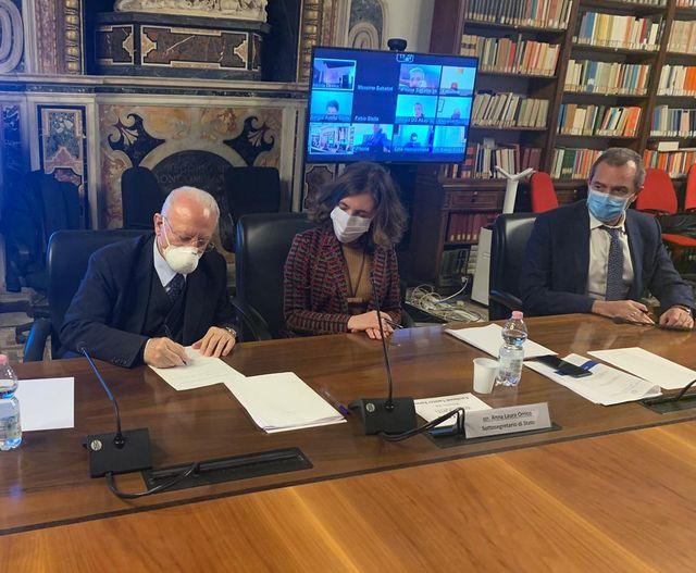 90 MILIONI PER IL CENTRO STORICO DI NAPOLI: FIRMATO AL MiBACT IL CONTRATTO DI SVILUPPO (CIS)
