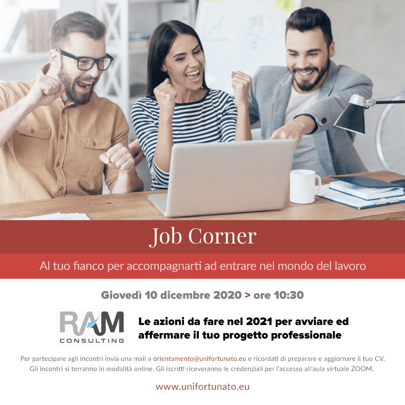 JOB CORNER UNIFORTUNATO CON RAM CONSULTING