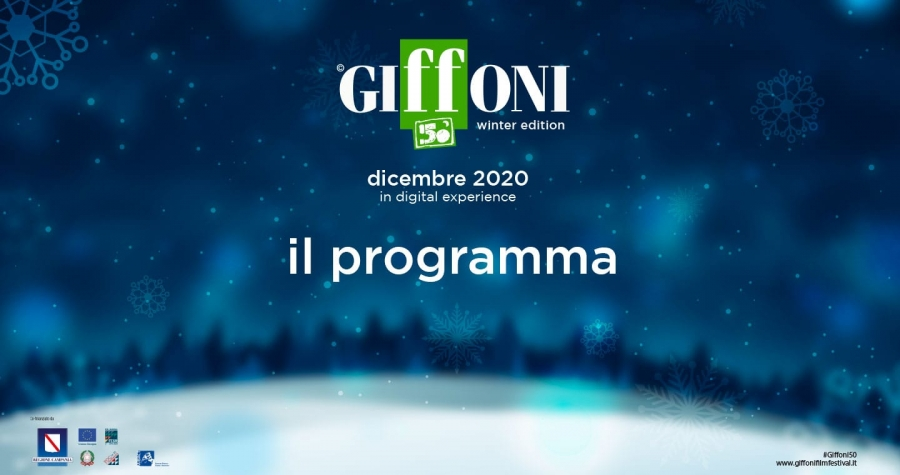 #GIFFONI50 WINTER EDITION, ECCO IL PROGRAMMA