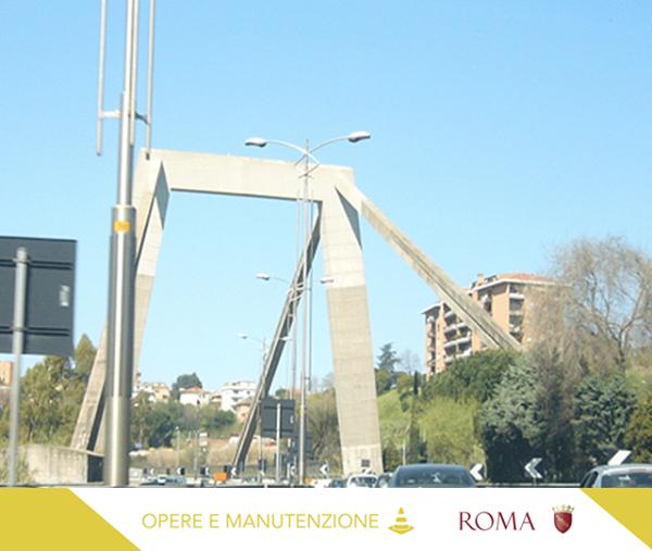 ROMA – PROSEGUE RIQUALIFICAZIONE PONTE DELLA MAGLIANA