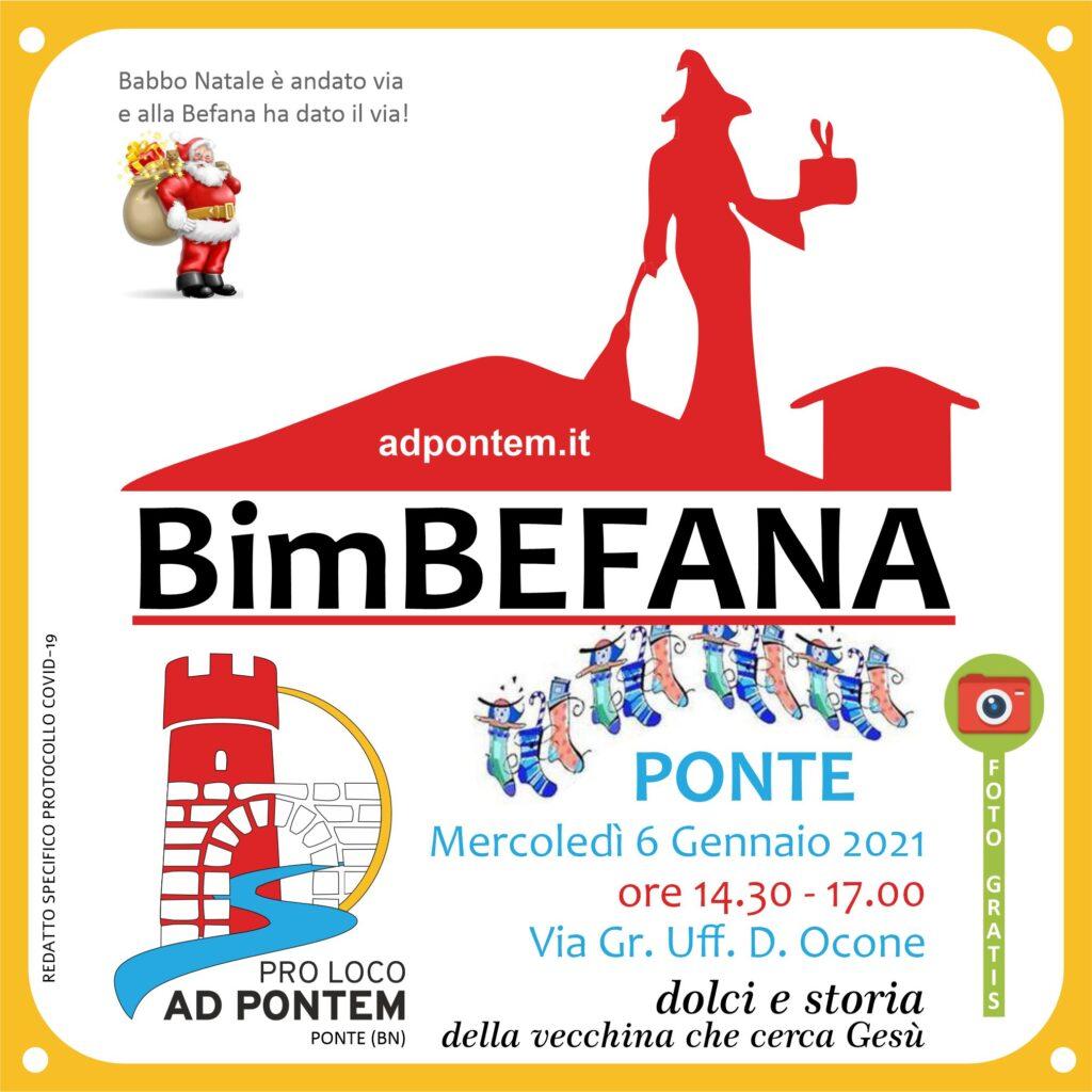 """La Pro Loco di Ponte """"AD PONTEM"""" pronta per """"BimBEFANA"""", dolci e storia della vecchina che cerca Gesù"""