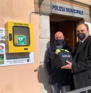 Torrecuso, defibrillatore in piazza grazie al dono di Carmine Buonanno