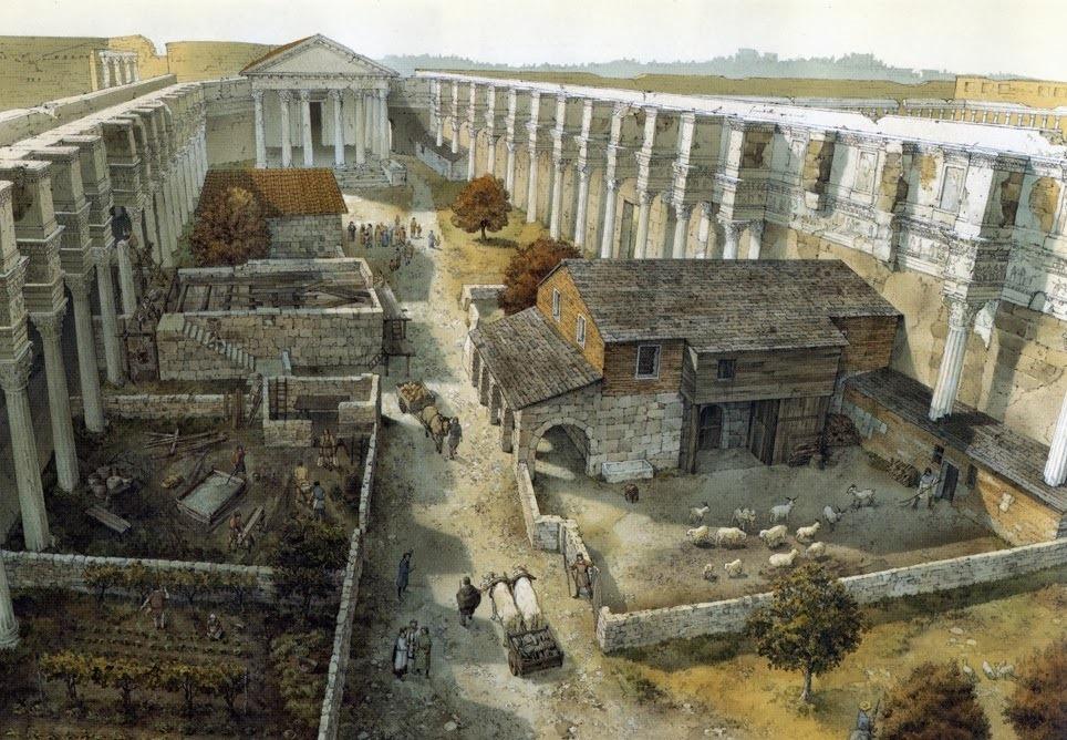 LA TRASFORMAZIONE DI ROMA NEL CORSO DEI SECOLI: L'ESEMPIO DEL FORO DI NERVA