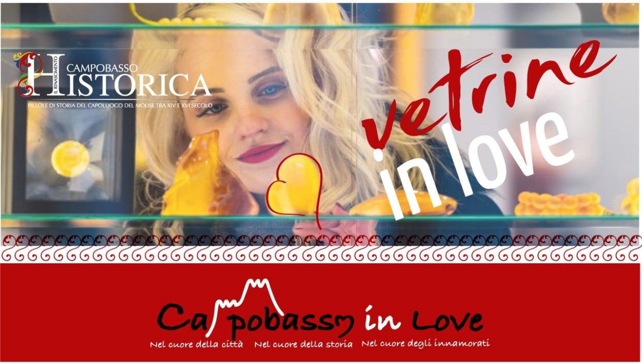 CAMPOBASSO, RIPARTE LA NUOVA EDIZIONE DI VETRINE IN LOVE