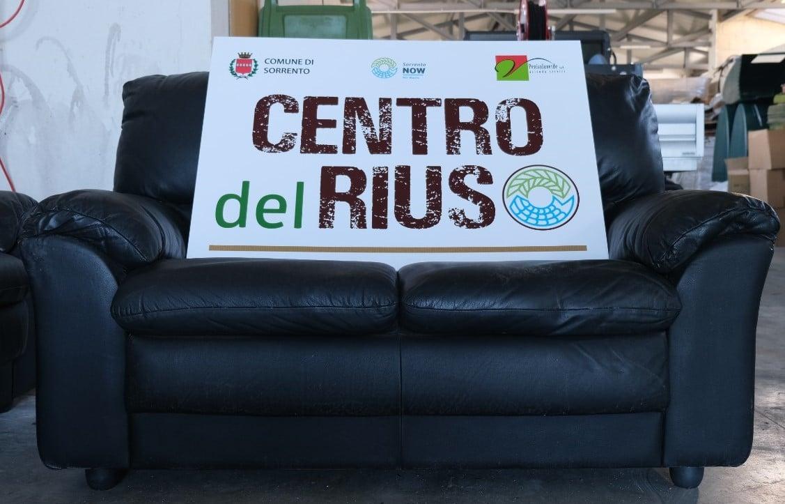 A SORRENTO CENTRO RIUSO, PER DONARE MOBILI E PICCOLI ARREDI