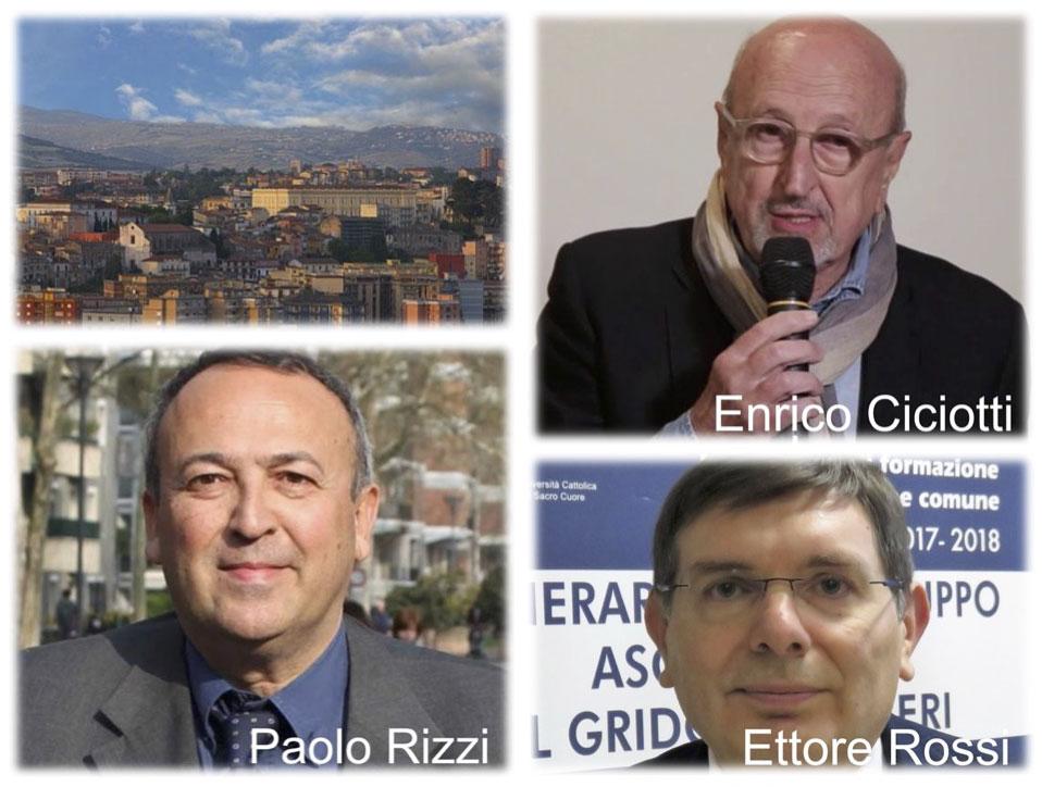 CIVES IN DIALOGO CON ENRICO CICIOTTISULLE STRATEGIE DI FUTURO DELLE CITTÀ