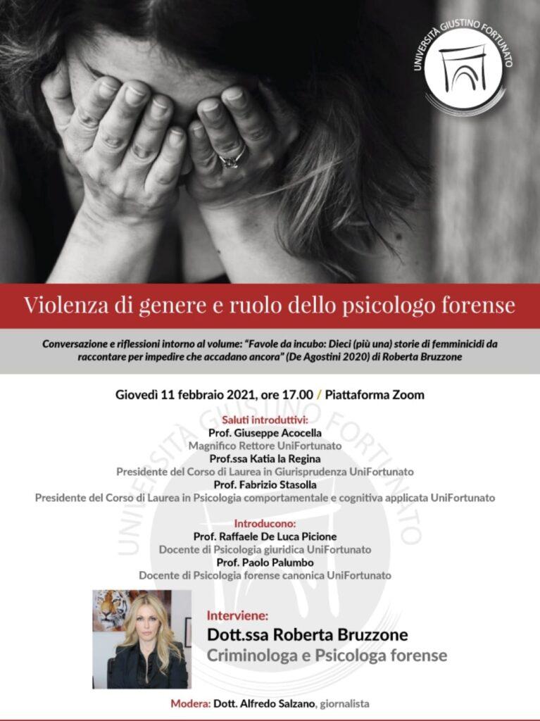 VIOLENZA DI GENERE E RUOLO DELLO PSICOLOGO FORENSE