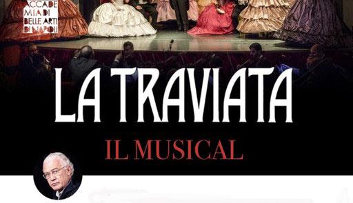 LA TRAVIATA IN MUSICAL, PROGETTO ACCADEMIA BELLE ARTI NAPOLI