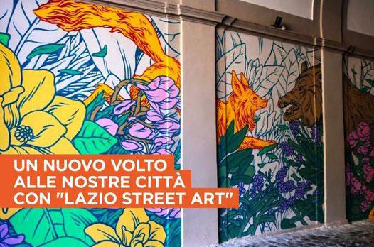 LAZIO, CULTURA: AL VIA PRIMI 4 PROGETTI 'LAZIO STREET ART'