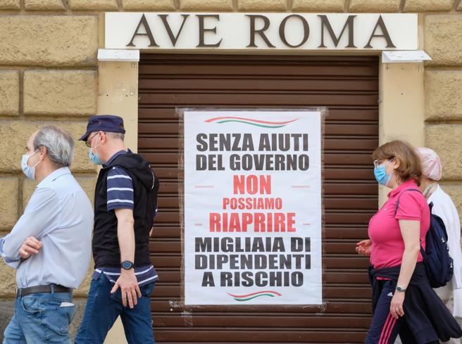 """COVID: INDAGINE, """"7,7 MLD PERDITE PER IMPRESE ROMA NEL 2020"""""""