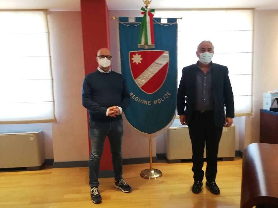 PALAZZO VITALE, TOMA INCONTRA IL DIRETTORE REGIONALE DEI VIGILI DEL FUOCO