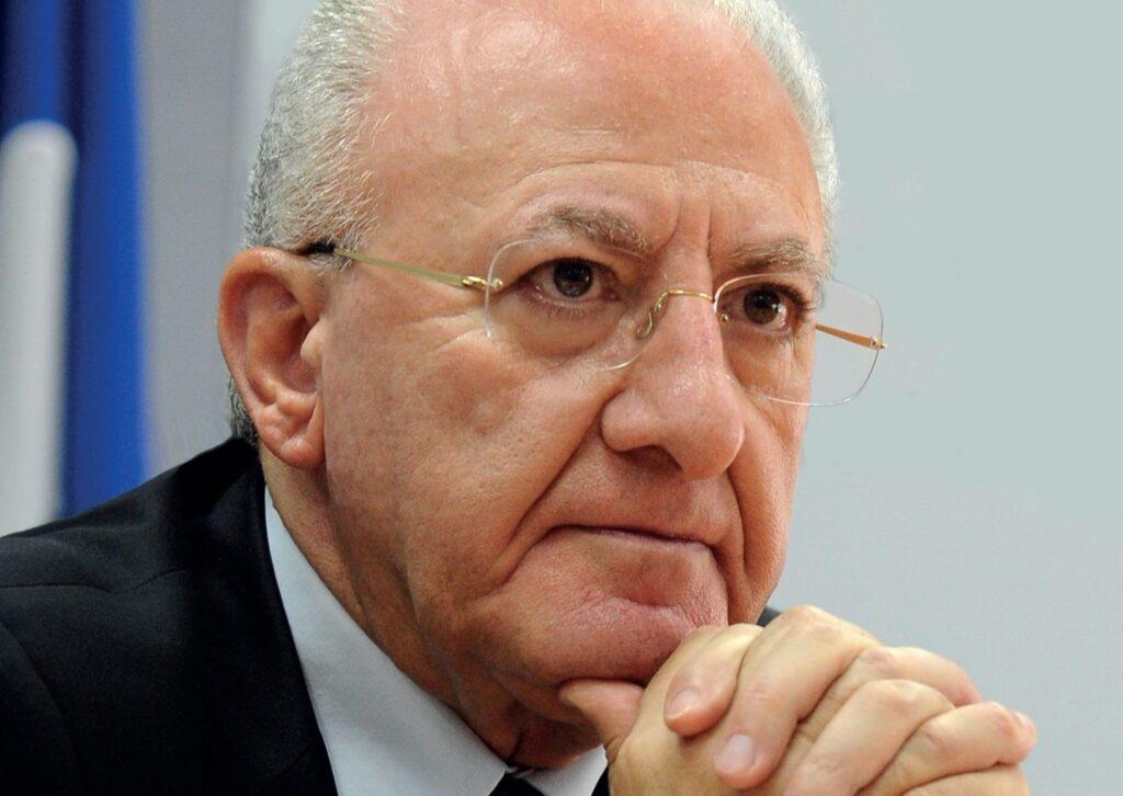 RECOVERY: DE LUCA, CRITICO E INSODDISFATTO DOPO PAROLE DRAGHI SU MAZZOGIORNO