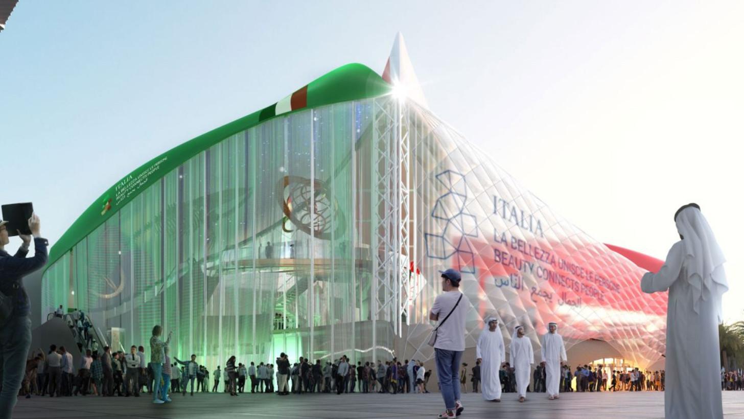 100 GIORNI A EXPO DUBAI. LA CAMPANIA IN VIAGGIO VERSO PADIGLIONE ITALIA CON LE RIPRESE DEL PREMIO OSCAR SALVATORES