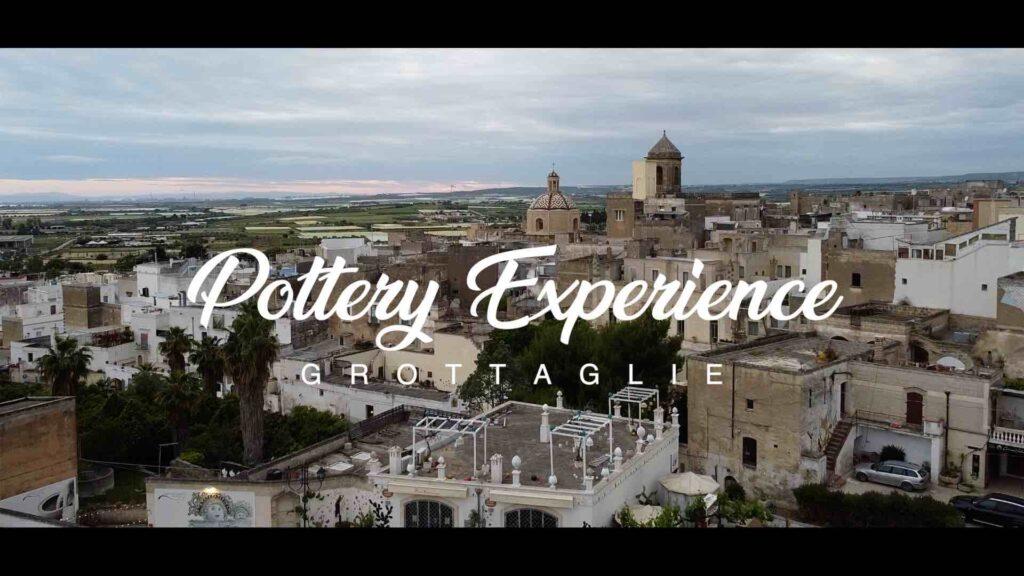 ECCO POTTERY EXPERIENCE, IL VIDEO CHE RACCONTA LA TRADIZIONE E LE ATTIVITÀ ESPERIENZIALI DI GROTTAGLIE (TA)