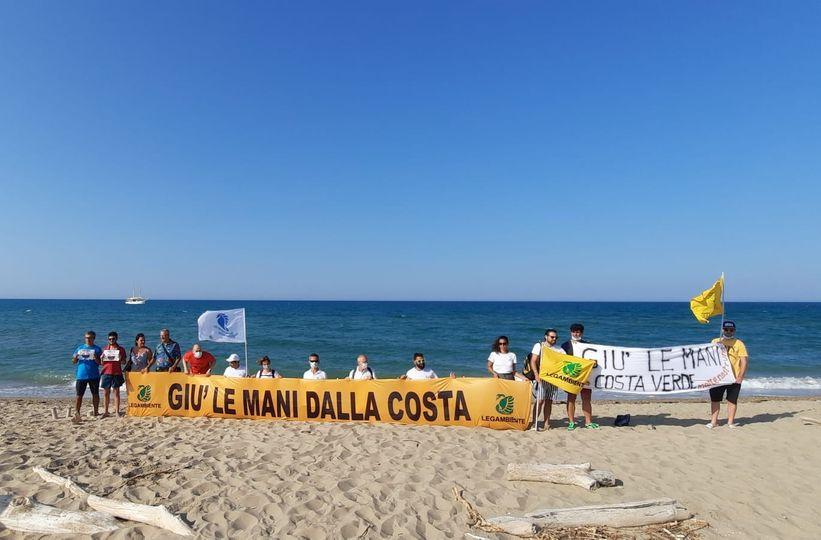 FLASH MOB DI PROTESTA CONTRO IL PROGETTO SOUTH BEACH