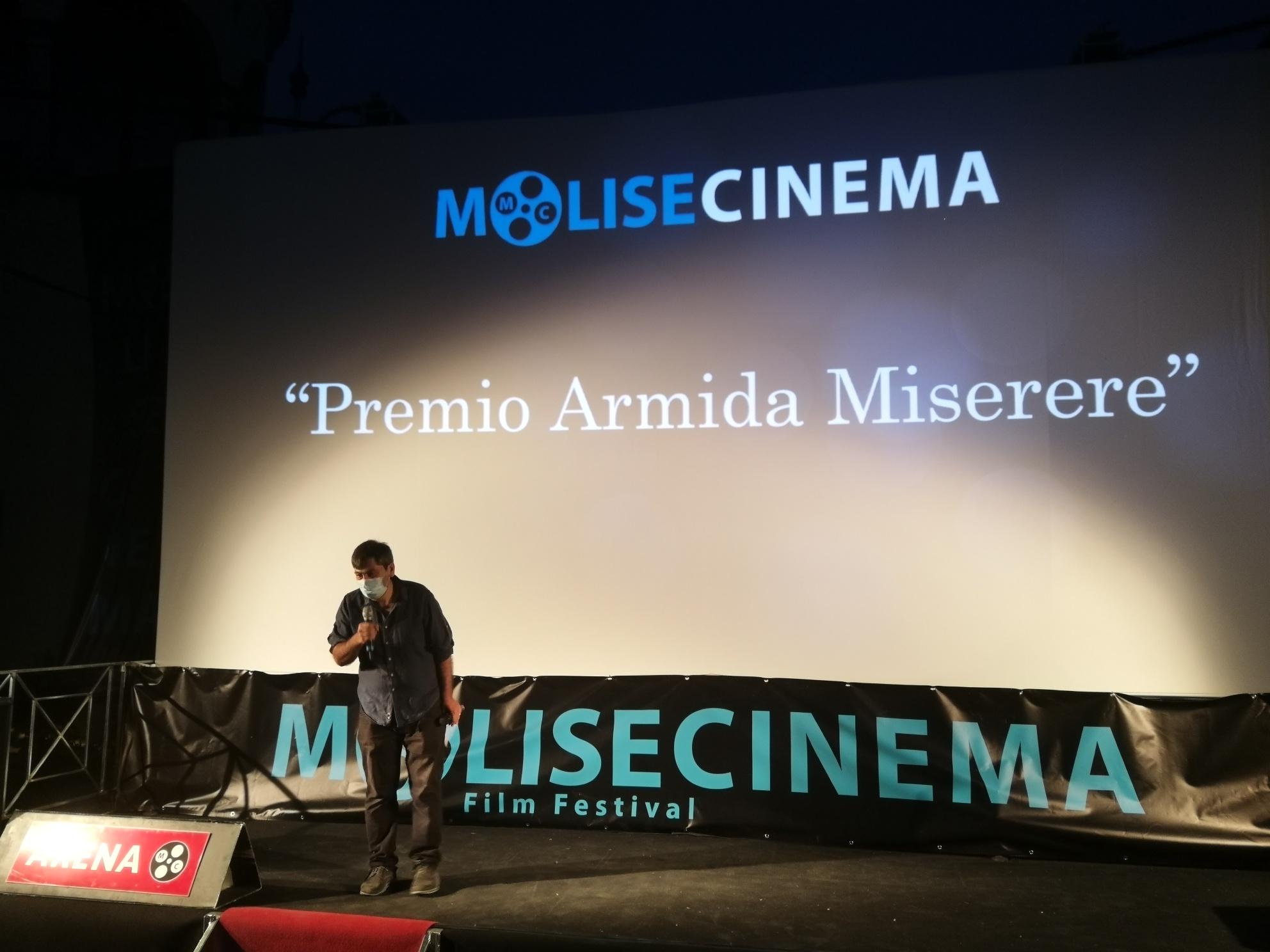MOLISECINEMA, PREMIO ARMIDA MISERERE A DOMENICO IANNACONE