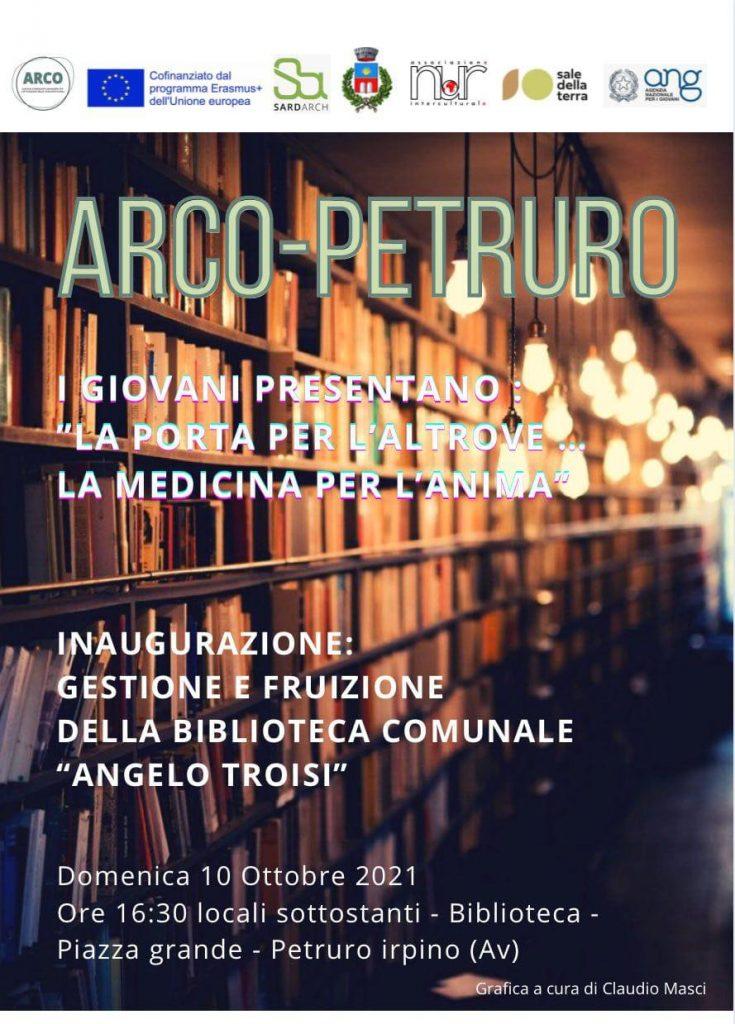"""ARCO PETRURO: """"LA PORTA DELL'ALTROVE… LA MEDICINA PER L'ANIMA"""""""